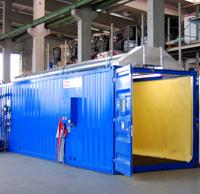 20-ти футовый пескоструйный контейнер